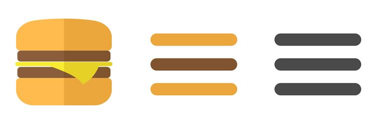 Почему гамбургер-меню подходит не для всех проектов